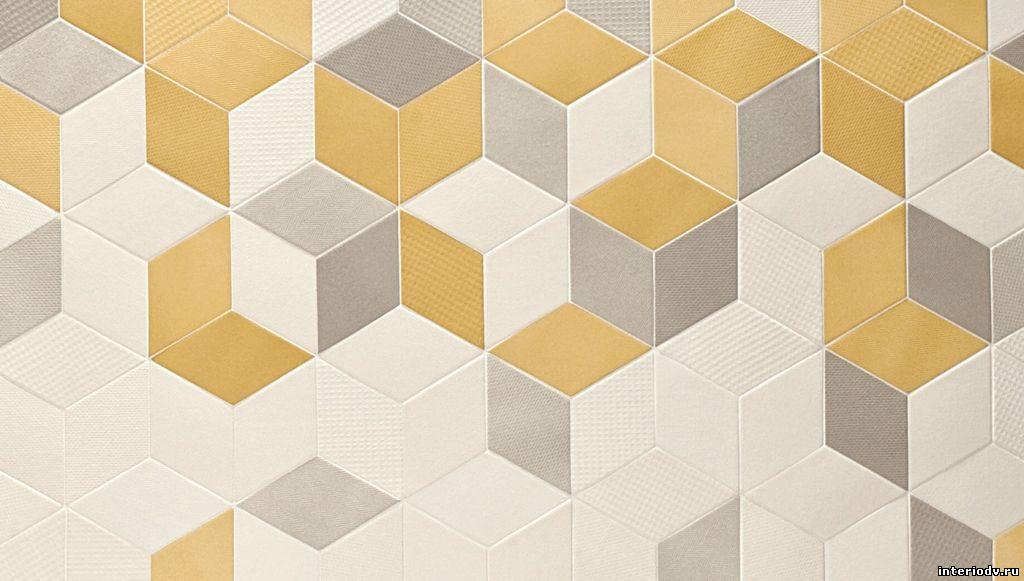 Color floor tile